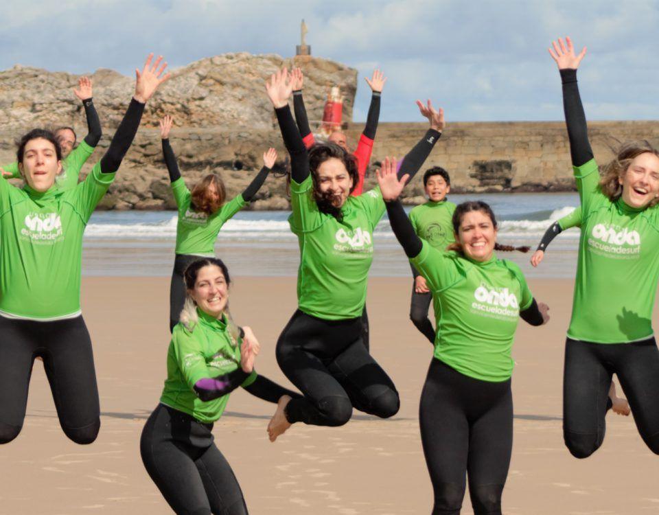 Galeria fotos clases de surf puente de mayo 02