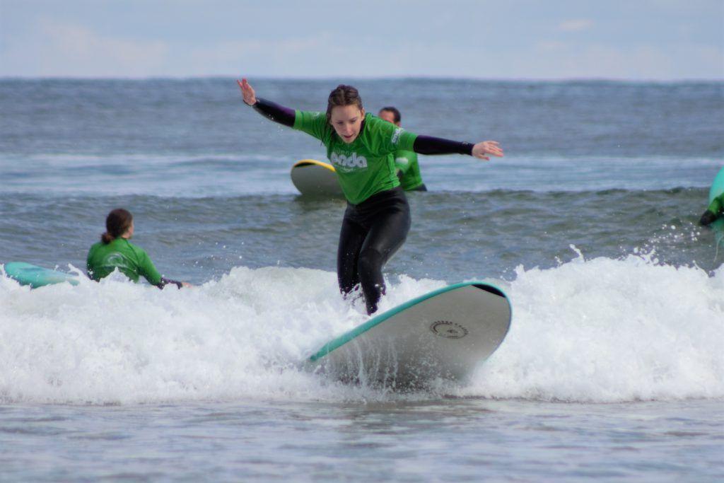 Clases de surf en San Vicente de la Barquera