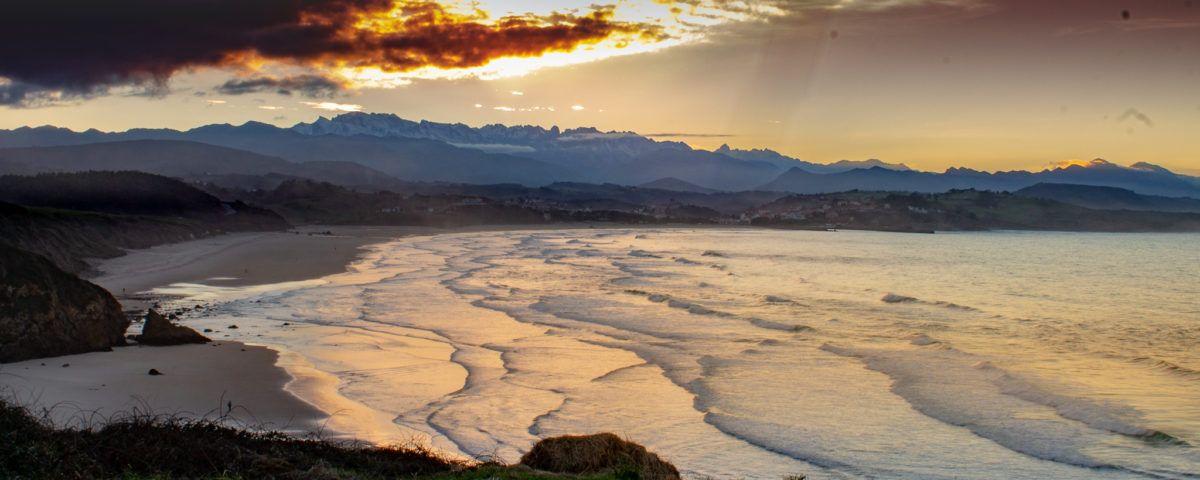 Puesta de sol San Vicente de la Barquera