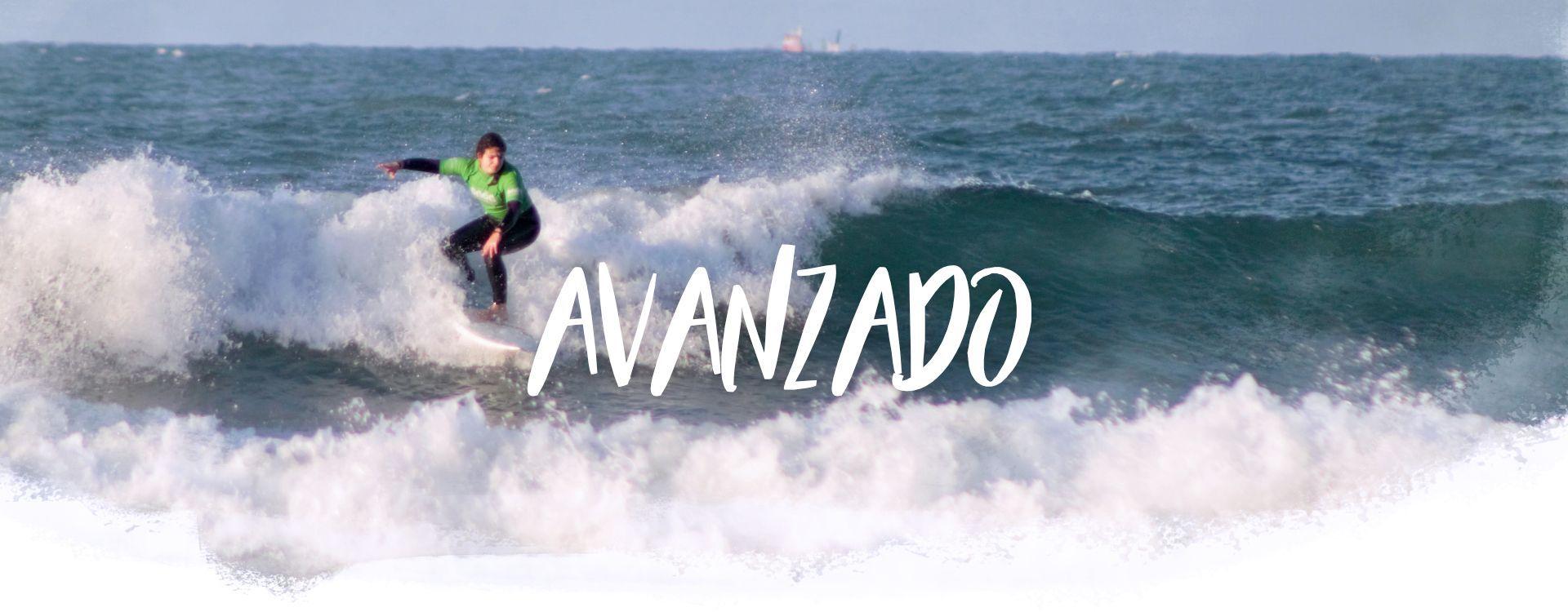 Clases de surf avanzadas