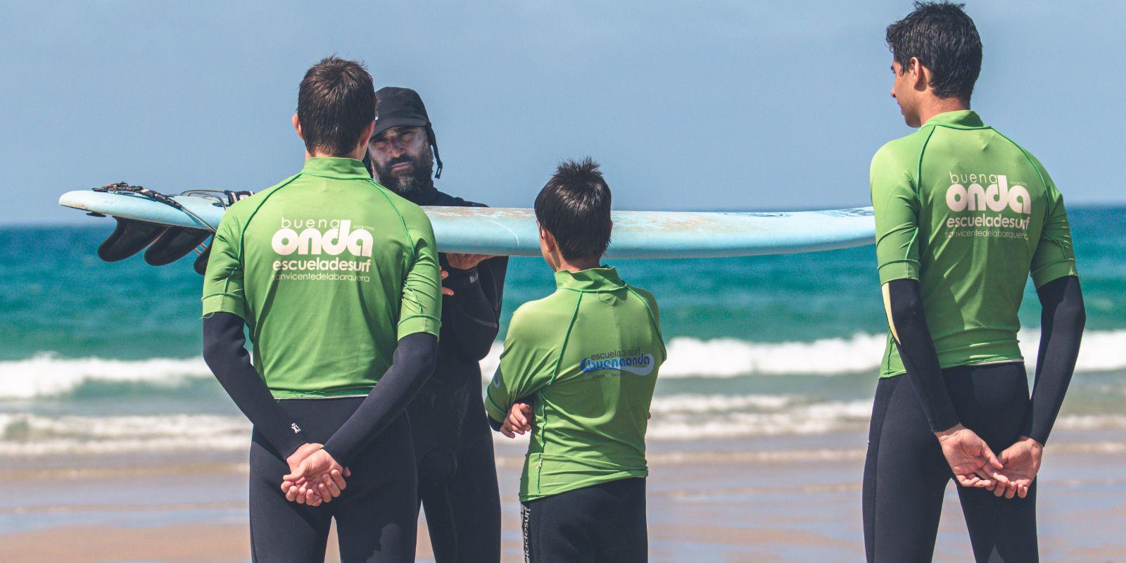 Curso particular de surf