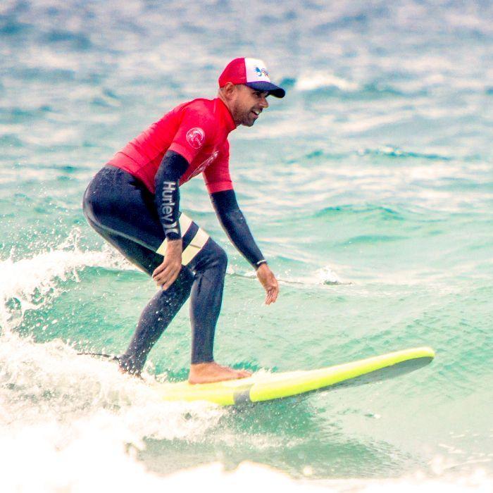David Herrerín profesor surf en Buena Onda
