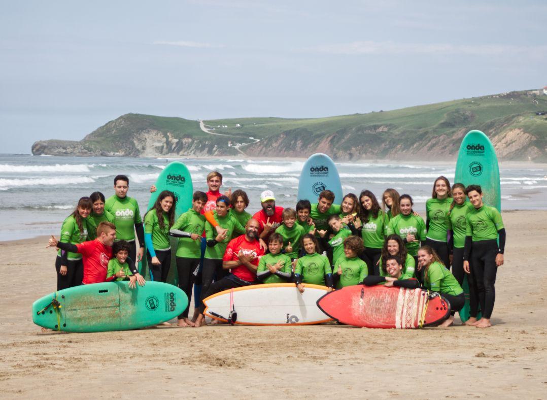 Curso de surf en San Vicente de la Barquera (Cantabria)