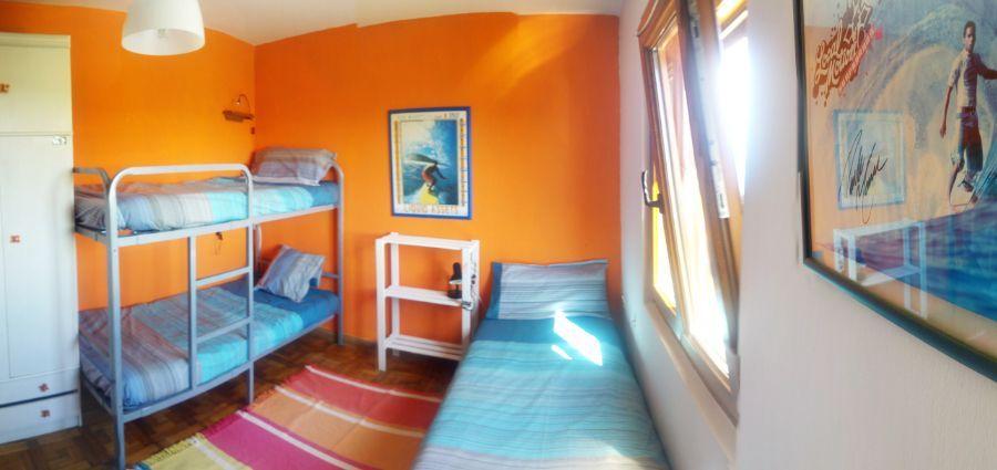 Habitación con literas en Surfcamp