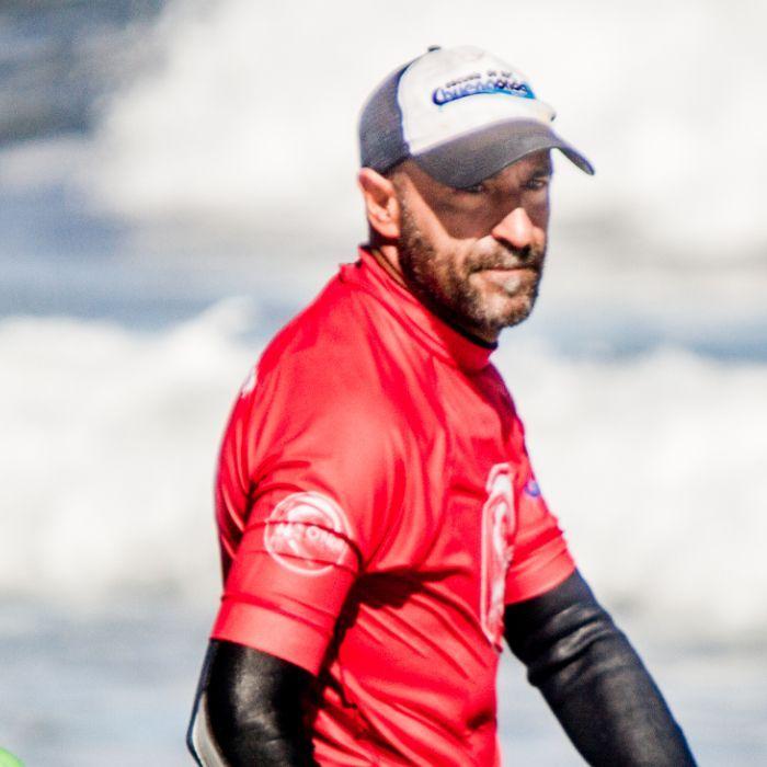 Juan Jony profesor de surf