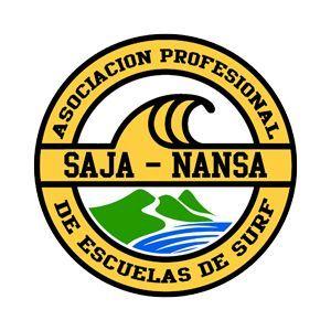Logo Asociación profesional de escuelas de surf Saja - Nansa