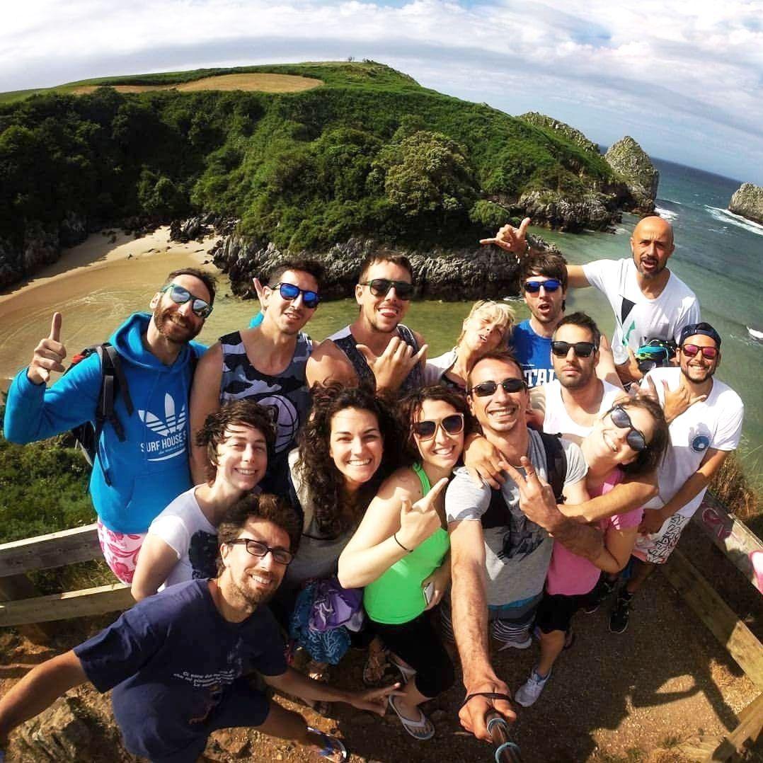 Selfie del Surfcamp para adultos